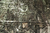 Bas-relief on the wall, Angkor, Cambodia — Stock Photo