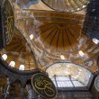 Hagia Sophia Interior in Istanbul, Turkey — Stock Photo #76897393