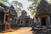 Angkor Wat, Khmer temple complex, — Stock Photo