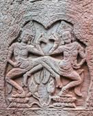 Apsaras decoration, Cambodia — Stock Photo