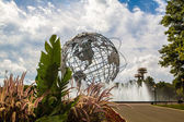 NEW YORK - September 8: View of Flushing Meadows-Corona Park Uni — Stock Photo