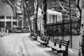 Winter in New York — Stockfoto