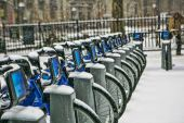 зима в нью-йорке — Стоковое фото