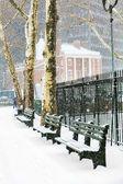 Zima v new yorku — Stock fotografie