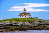 Historic Egg Rock Lighthouse in Maine — Zdjęcie stockowe