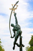 Rocket Thrower in Flushing Meadows Corona Park  — Stock Photo