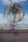 NEW YORK -  September 7 : View of Flushing Meadows-Corona Park Uni — Stock Photo
