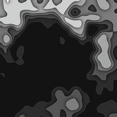 Art abstract monochrome fractal pattern, background in black and — Stock Photo