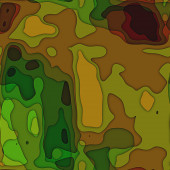Art colorful transperancy waves pattern background in green and — Stock Photo