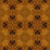 Hintergrund für die kunst vintage damast nahtlose muster in farbe braun — Stockfoto