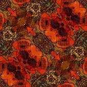 Art nouveau ornamental vintage pattern — Stock Photo