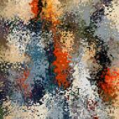 Arte abstrata colorido geométrico de fundo em cinzento e r — Fotografia Stock
