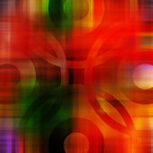 Art abstract geometric textured colorful background in green, re — Stock Photo