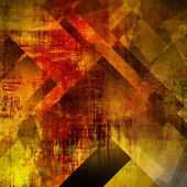 Art abstract geometric textured colorful grunge background in or — Stock Photo