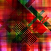 Art abstract geometric textured colorful background in vanguard  — Stock Photo