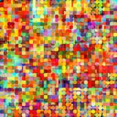 Umění abstraktní pulzující rainbow, geometrický vzor bezešvé backgro — Stock fotografie