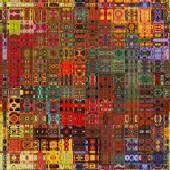 Arte astratto colorato motivo geometrico senza soluzione di continuità — Foto Stock