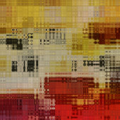 Art abstract colorful geometric pattern background in beige and  — Stockfoto