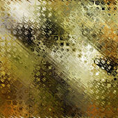 Art abstract colorful geometric pattern background in gold, gree — Stock Photo