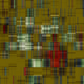 Streszczenie sztuka kolorowy wzór geometryczny — Zdjęcie stockowe