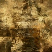 Art abstract acrylic and pencil background in beige, brown, gree — Stock Photo