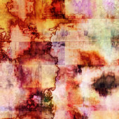 Art abstract watercolor tiled background in beige, brown, lilac  — Stock Photo