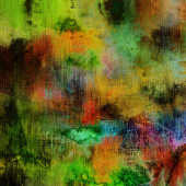 Art abstract watercolor background in green, violet, blue, red,  — Stock Photo