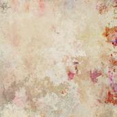 Arte monocromática aquarela abstrato em cores vermelhos e bege — Fotografia Stock