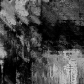Art abstract grunge dust textured monochrome background in black — Stock Photo