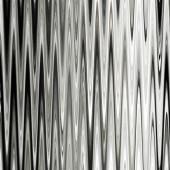 Art abstract monochrome zigzag geometric seamless pattern backgr — Stockfoto