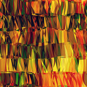 Art abstract colorful chaotic waves seamless pattern in Klimt style — Stock Photo