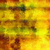 Art abstract pixel geometric pattern background in gold and brow — Stock Photo