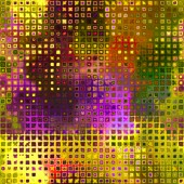 Art abstract pixel geometric pattern background in lilac, brown, — Stock Photo