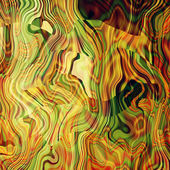 Art abstract colorful chaotic waves pattern in Klimt style — Stok fotoğraf