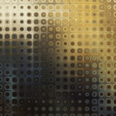 Art abstract pixel geometric pattern background in gold, beige a — Stockfoto