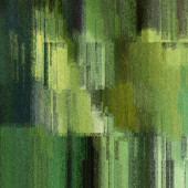 Art abstract colorful pixels pattern background in green, gold a — Foto de Stock