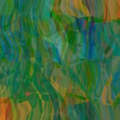 Art abstract colorful chaotic waves pattern background with blue — ストック写真