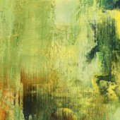 Art abstract colorful  grunge graphic background in yellow, gree — Stock Photo