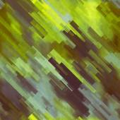 Art abstract geometric diagonal pattern background in green, yel — ストック写真