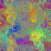 Art abstract pixel geometric pattern background in lilac, grey,  — Stock Photo