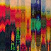 艺术抽象彩色图形背景 — 图库照片
