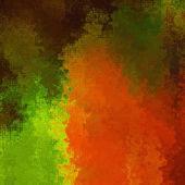 Umění abstraktní pixel geometrickým vzorem pozadí v červené, oranžové, — Stock fotografie