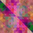 Art abstract colorful geometric seamless pattern, tiled backgrou — Stock Photo #53907081