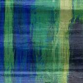 Seda colorido abstrato de arte texturizado fundo desfocado em verde, — Fotografia Stock