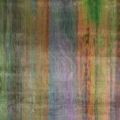 Art abstract colorful silk textured blurred background in green, — Stock Photo