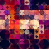 искусство абстрактного красочные геометрический узор — Стоковое фото