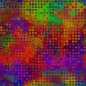 Art abstract pixel geometric pattern, rainbow background — Stockfoto