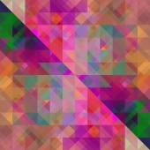 Art abstract colorful geometric seamless pattern, tiled backgrou — Stock Photo