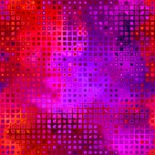 Art abstract pixel geometric pattern background in pink and viol — Stock Photo