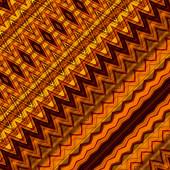 Kunst abstracte geometrische diagonaal patroon achtergrond in rood, orang — Stockfoto